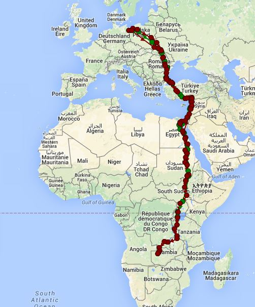 The autumn migration 2015 of Lesser Spotted Eagles has ... on duck migration map, us crane migration map, ga migration map, mallard migration map, el migration map, goldeneye migration map, waterfowl migration map, german migration map,