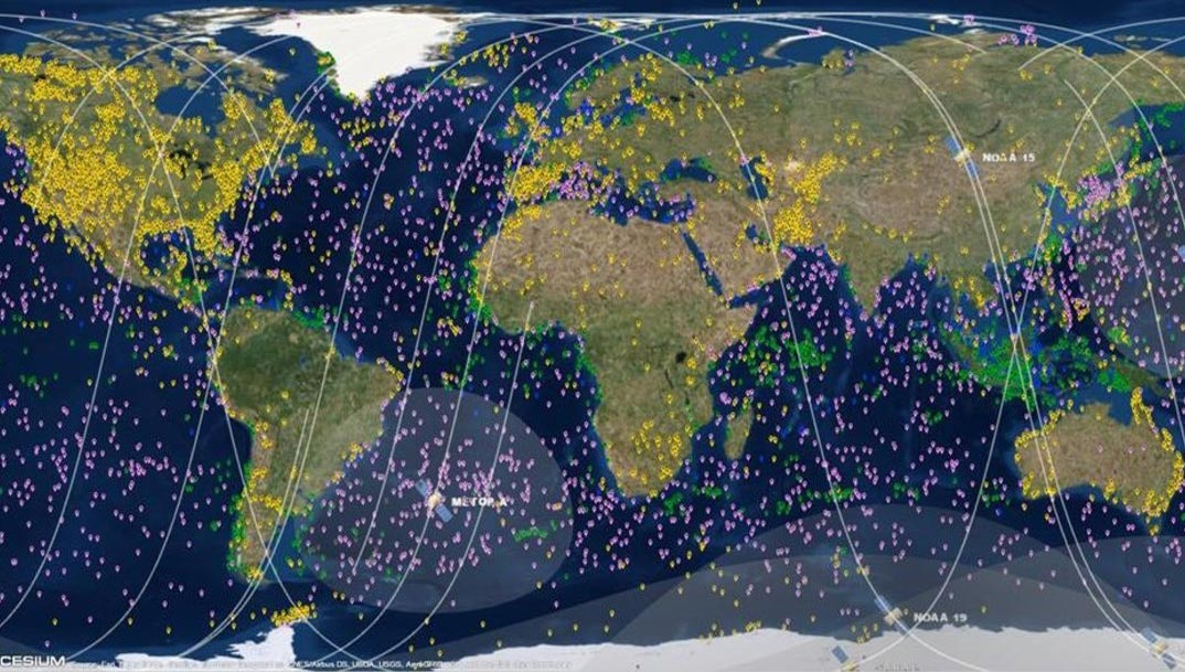 Argos - Worldwide tracking and environmental monitoring by